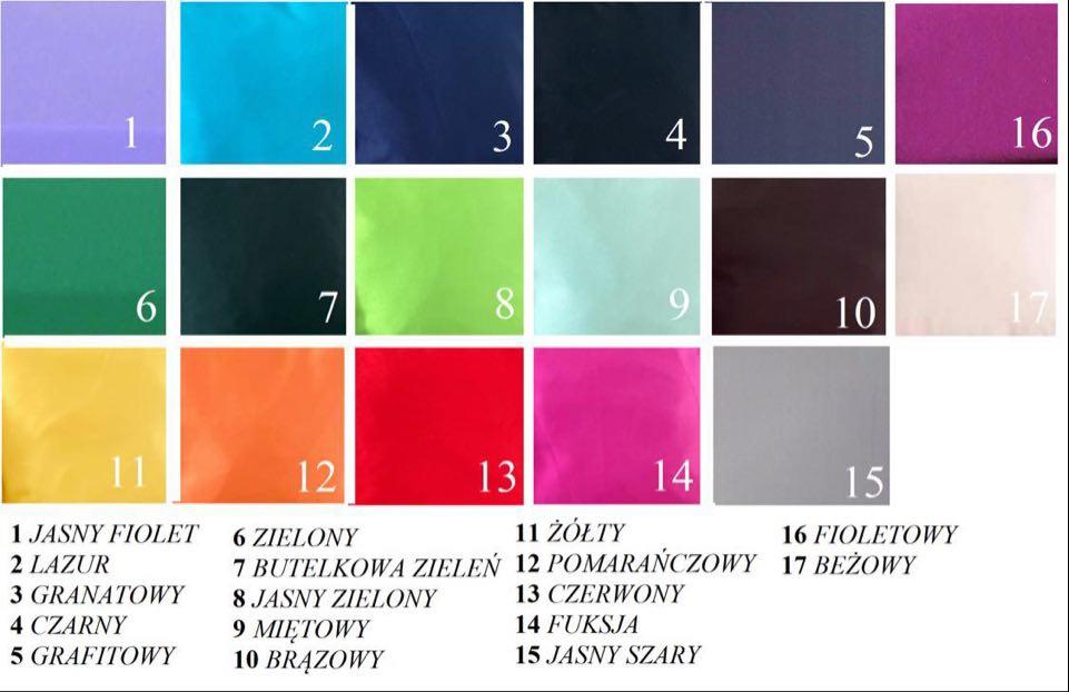 poduszki dekoracyjne baza kolorów